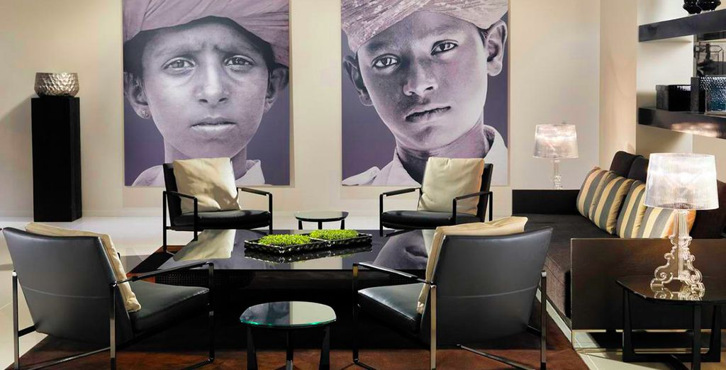 El diseño vanguardista del hotel le impresionará - H10 Ku'damm 4* Berlín