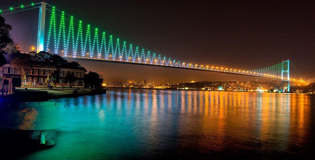Descubra el famoso Puente del Bósforo