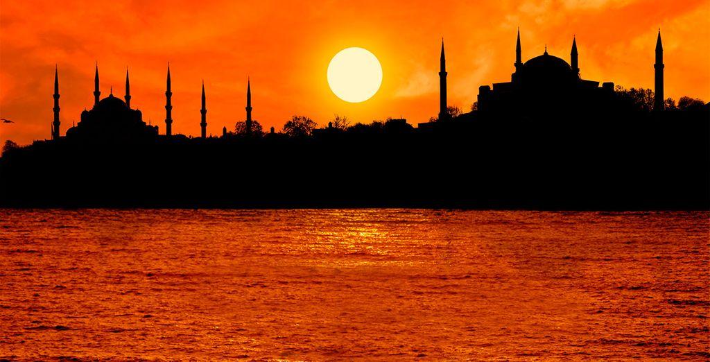 Contemple el asombroso e inspirador skyline de la ciudad