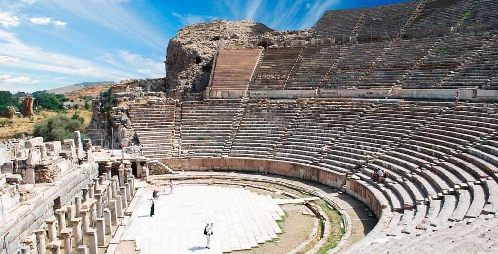 Aprecie la herencia griega y romana en Efeso