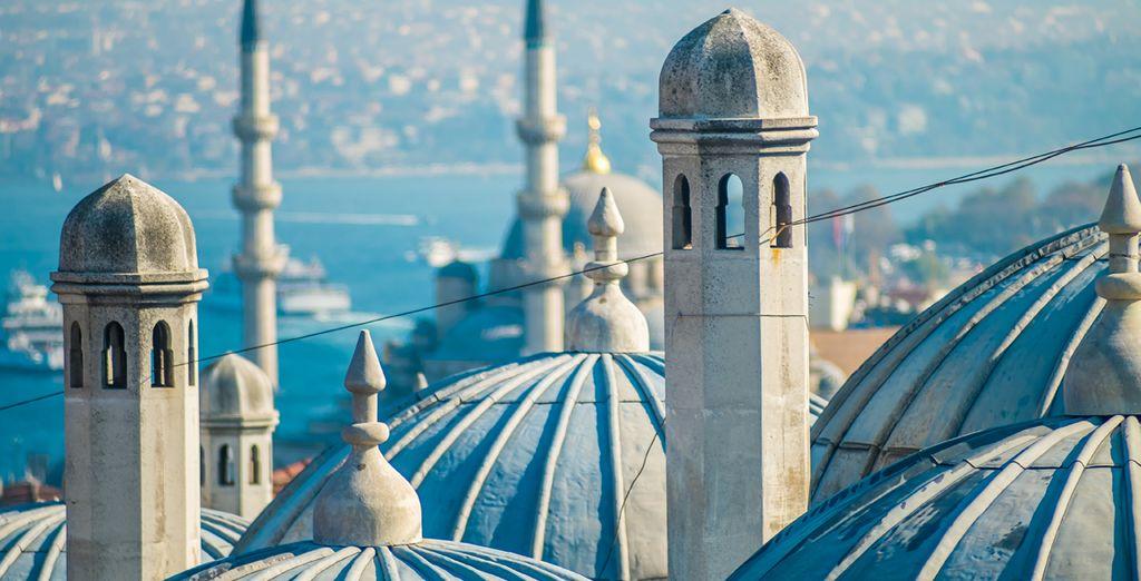 La ciudad de Estambul le fascinará