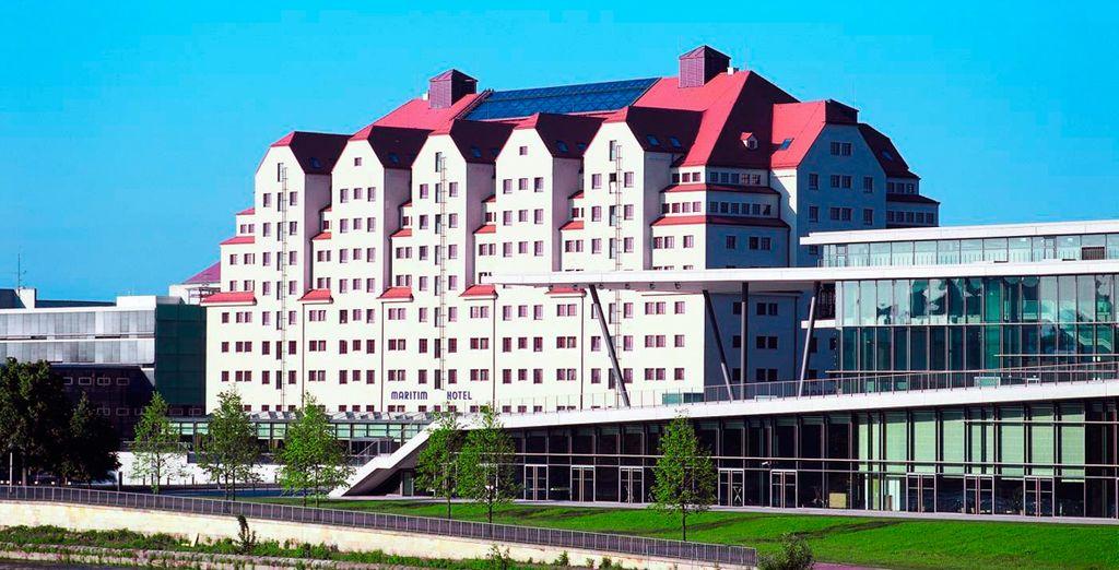 Hotel Maritim Congress 4*, Dresde