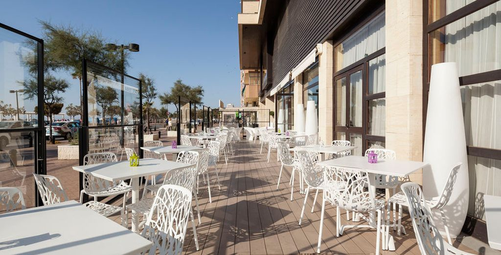 Un restaurante al aire libre para disfrutar del inmejorable clima de la Costa del Sol