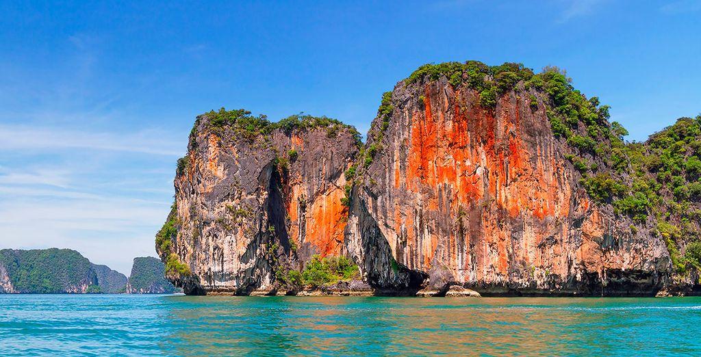 Los paisajes de Khao Lak resultan de lo más espectaculares
