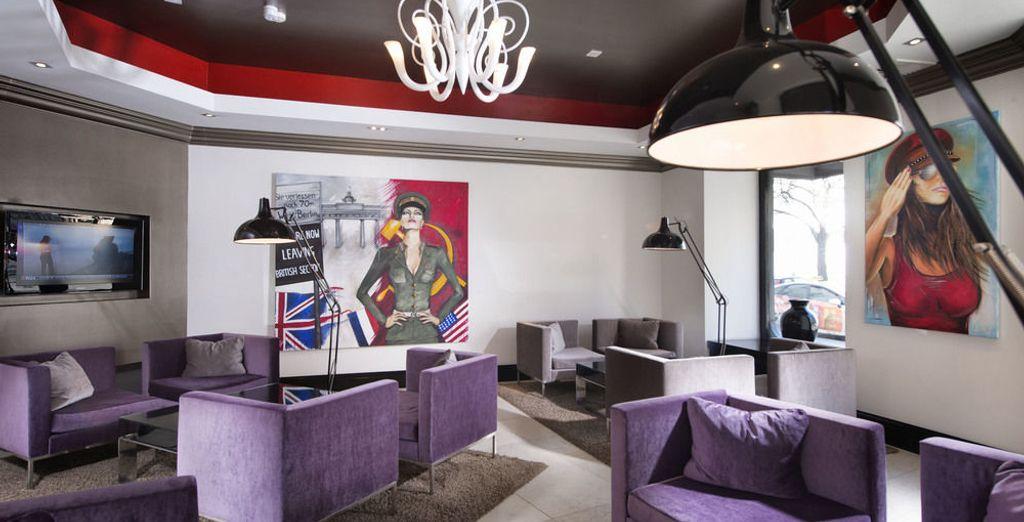 Se alojará en el Domus Hotel Berlin Ku'Damm - Domus Hotel Berlin Ku'Damm Berlín