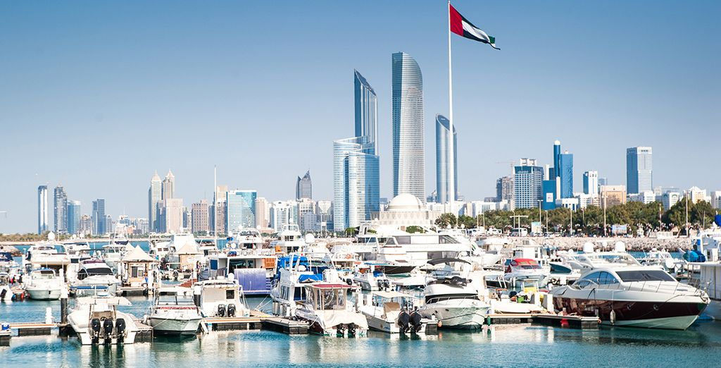 À Abu Dhabi!