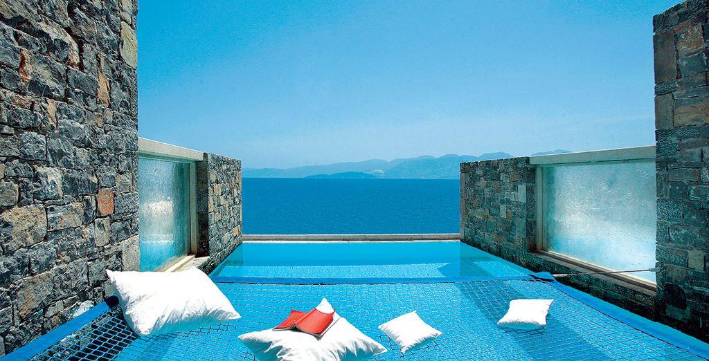 Elounda peninsula all suite hotel voyage priv - Hotel chambre avec piscine privee ...