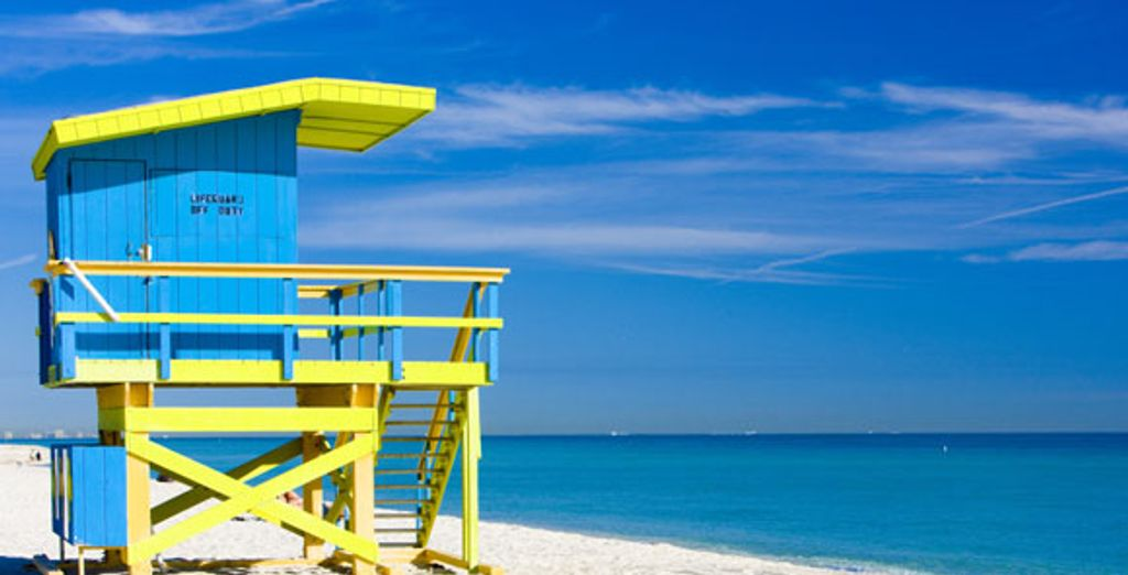 Bienvenue sur les plages de Miami - Combiné Miami et croisière au Bahamas - en 9 jours / 7 nuits en hôtel 3* Miami