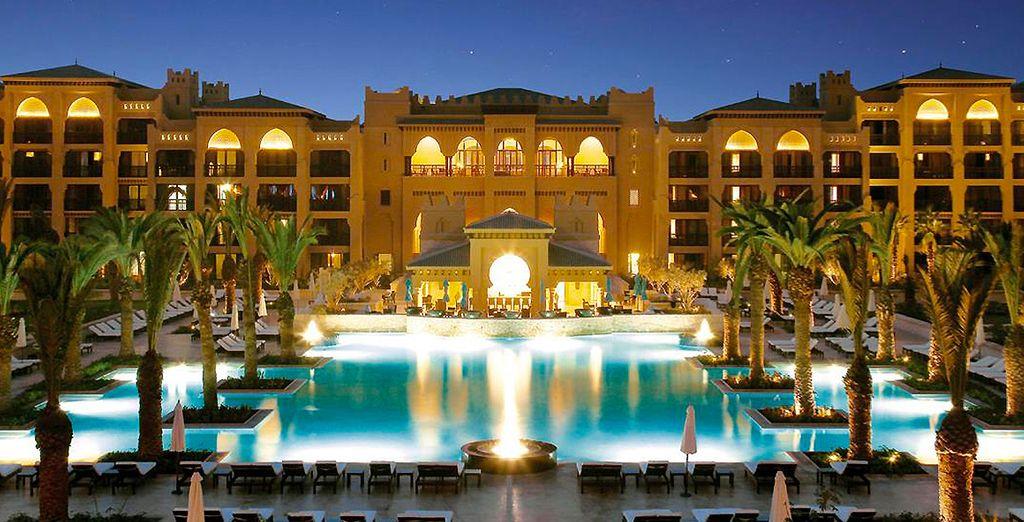 H tel mazagan beach resort 5 voyage priv jusqu 39 70 - Oreiller hotel de luxe ...