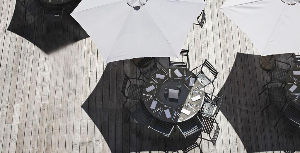 ... ou le cadre naturel exceptionnel en terrasse