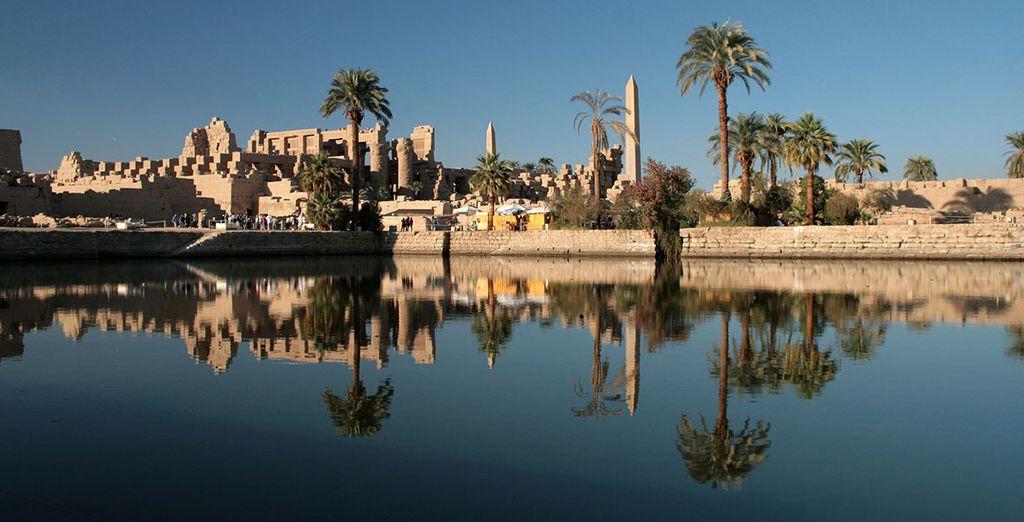 Puis partez sur les eaux du Nil en croisière...