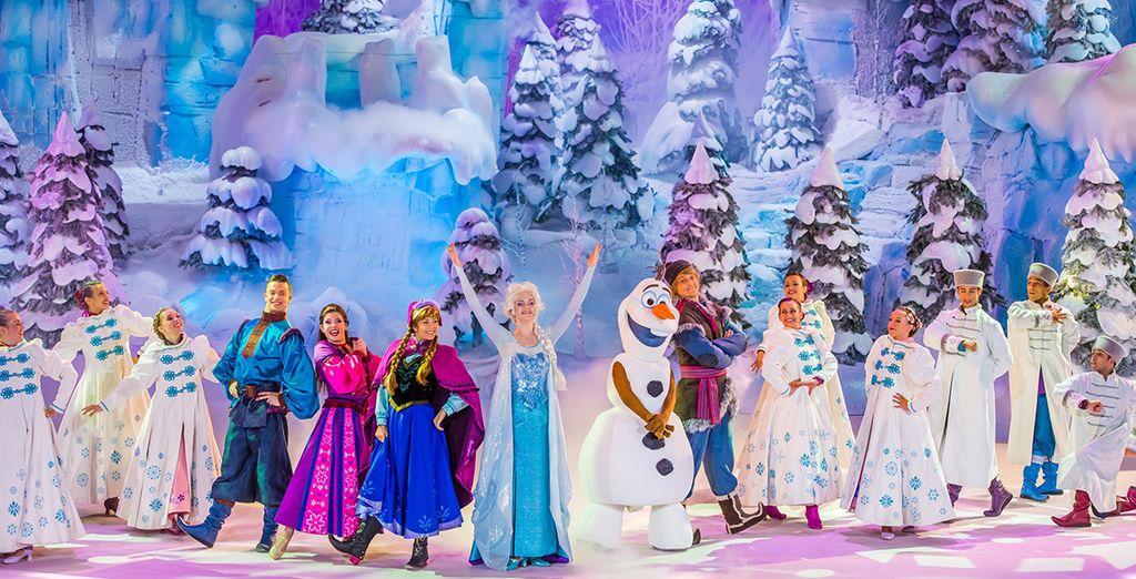Participez à la Fête Givrée de la Reine des Neiges