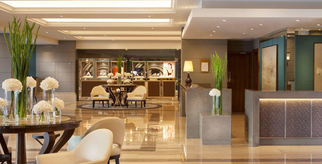Au sein de ce superbe hôtel 5* - Hôtel Corinthia Lisbonne 5* Lisbonne