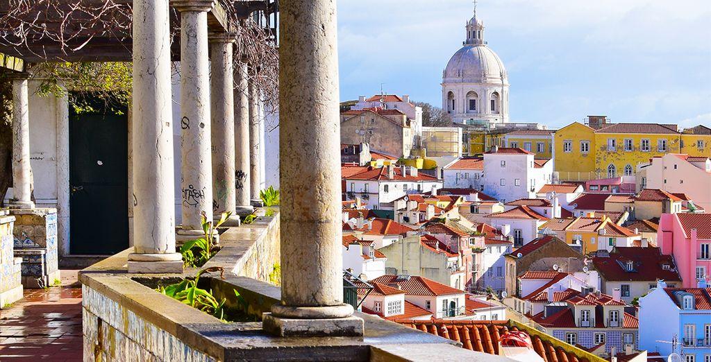 Ainsi que sa capitale si attachante : Lisbonne où vous séjournerez en début et fin de programme !