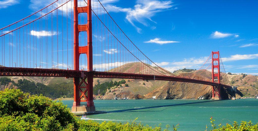 Vous poursuivrez ce séjour unique à San Francisco