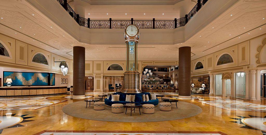 Prenez la direction de l'hôtel Waldorf Astoria Ras Al Khaimah - Hôtel Waldorf Astoria Ras Al Khaimah 5* Ras Al Khaimah
