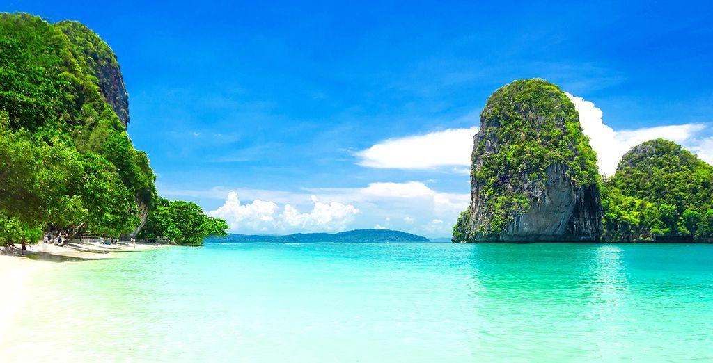 Suivez-nous au sud de la Thailande