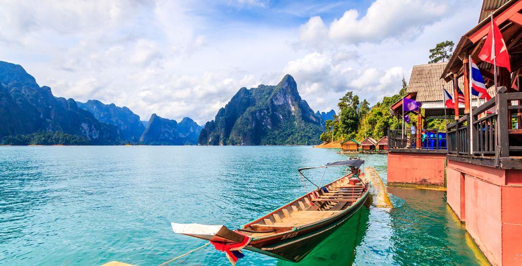 Que vous pourrez découvrir à bord d'une bateau traditionnel