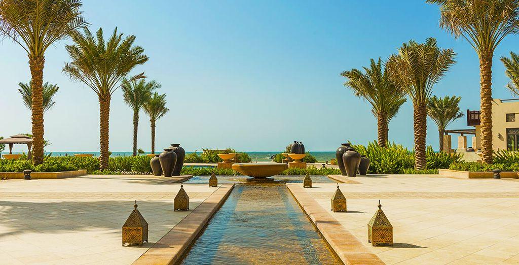 Où règne un parfum d'exotisme & de luxe - Hôtel Ajman Saray 5*, a Luxury Collection Hotel & Resort Ajman City