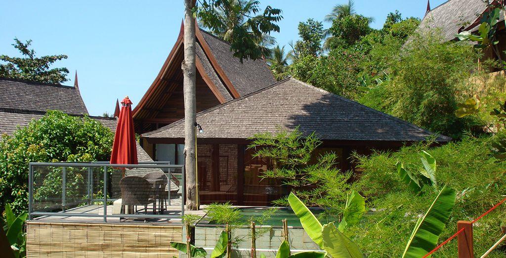 Ou prenez place en Sea View Pool Villa