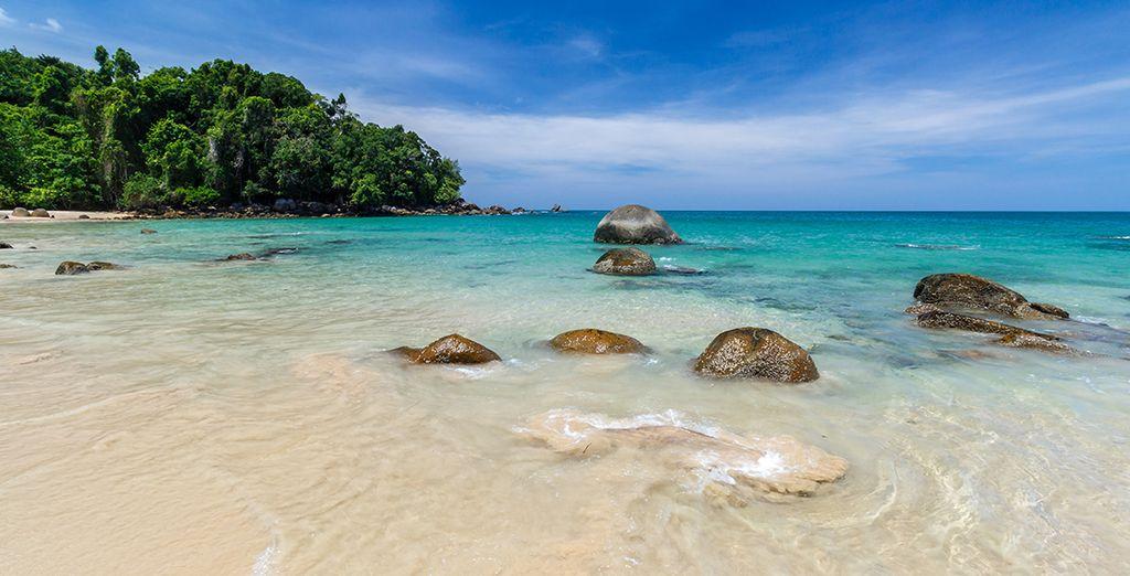 Et profitez de la beauté des plages de Khao Lak