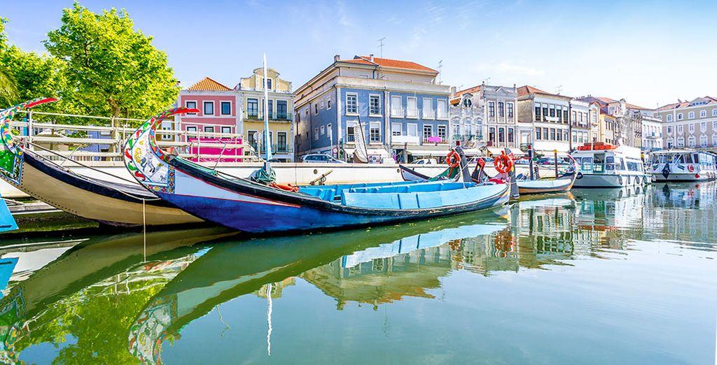 Vous passerez par la Venise du Portugal : Aveiro