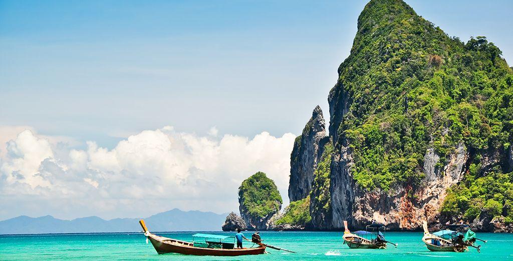 Avant de vous envoler plus au Sud retrouver les eaux turquoises de la mer d'Andaman