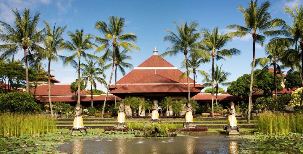 Dans l'atmosphère exotique de l'InterContinental Bali 5*
