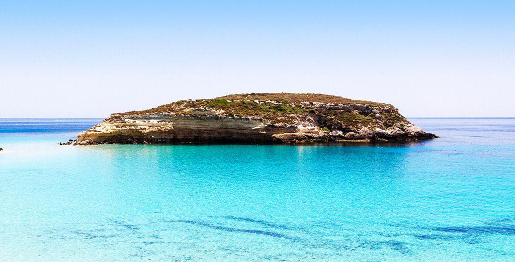 Scoprite le bellezze di Lampedusa, del suo mare e delle sue spiagge protette.  - Giutgia Tommasino Lampedusa