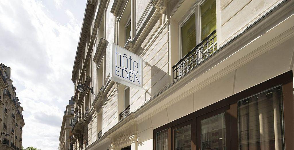 Welcome to Hotel Eden  - Hotel Eden Paris 4* Paris
