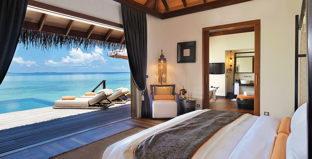 Wake up to the view of the ocean