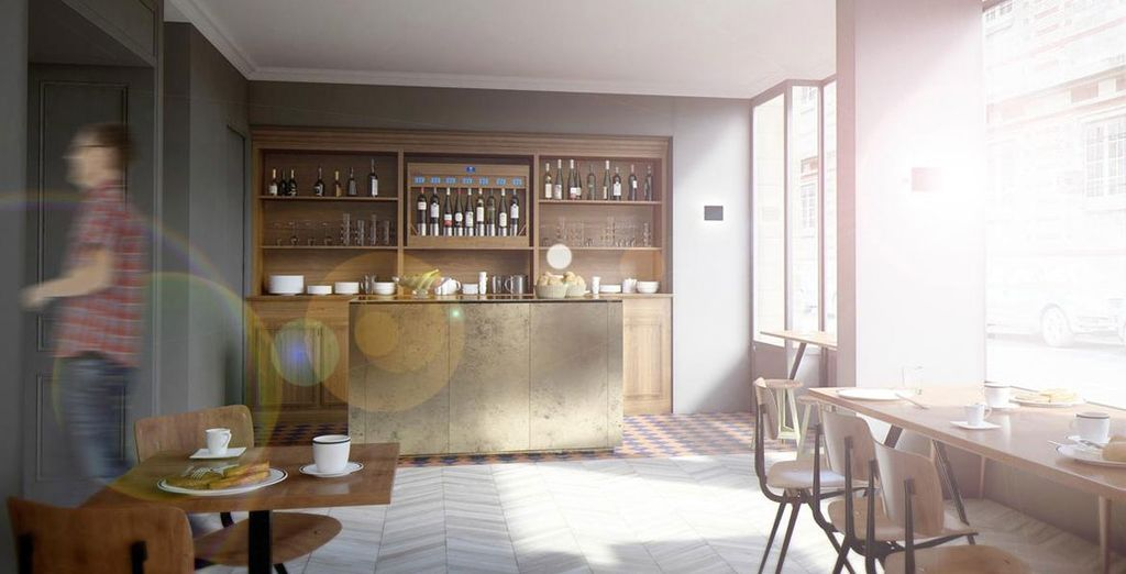 Unwind in bright, modern interiors