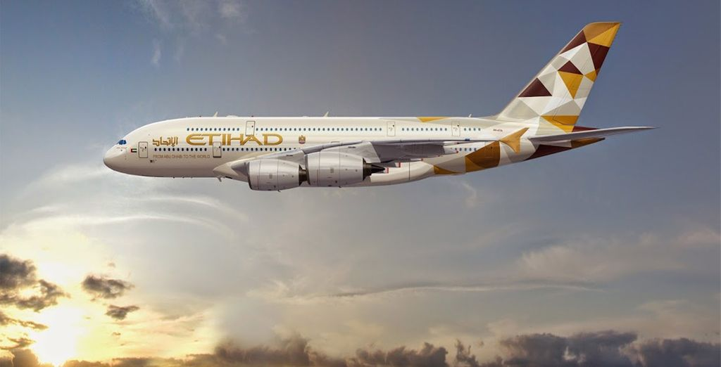 Fly with Etihad to start your trip in style