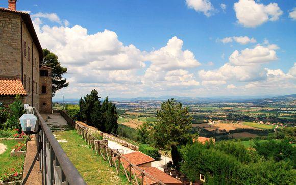 Relais il Castello 4* Entre Umbría y Toscana Italia