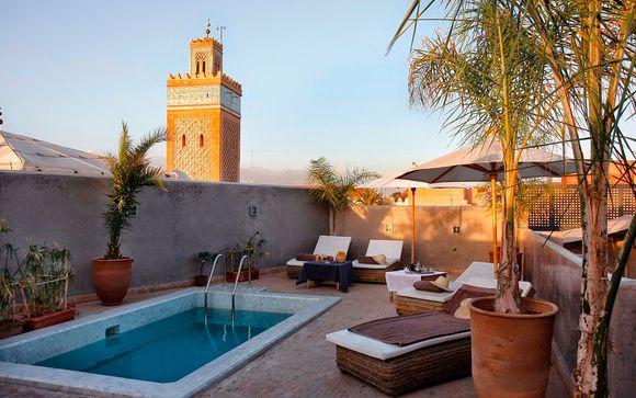 Marruecos Marrakech Riad Awa desde 113,00 €