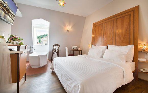 Estancias en praga voyage priv for Design hotel neruda 4