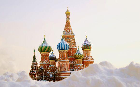 Séjour combiné Moscou / St Pétersbourg en 8 jours en 4* ou 5*