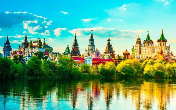 Combiné Moscou - St Pétersbourg en hôtels 4* - 8 jours
