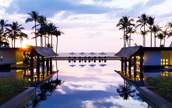 Hôtel JW Marriott Khao Lak Resort & Spa 5* avec ou sans extension à Bangkok