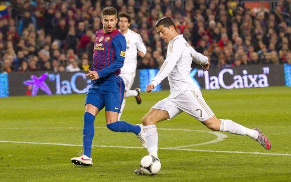 Matchs du Real Madrid + Hôtel H10 Tribeca 4*