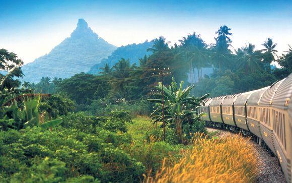 Combiné Eastern & Oriental Express et hôtels 5*