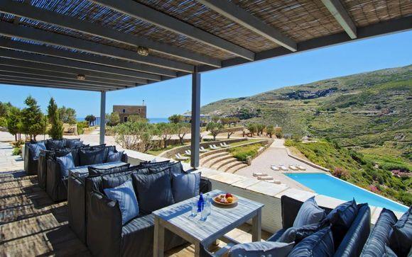 Grèce Andros - Aegea Blue Cycladic Resort 4* à partir de 325,00 €