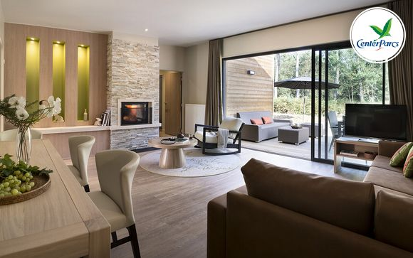 France Morton - Center Parcs Domaine du Bois aux Daims - Cottage VIP à partir de 359,00 €