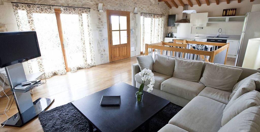 Für einen Urlaub mit der ganzen Familie eignet sich das Familien Apartment
