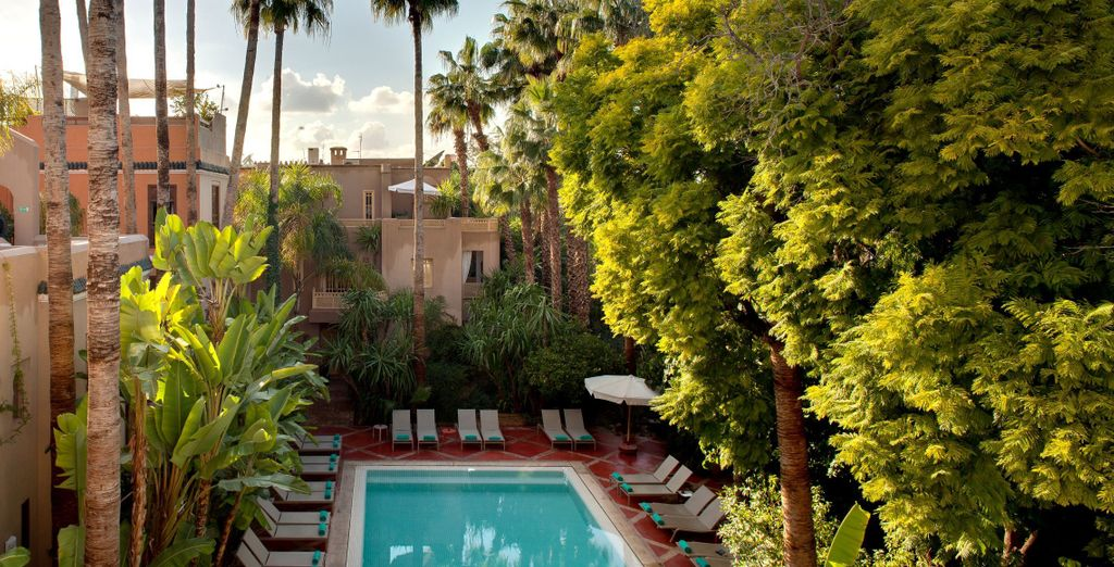 Willkommen im 5* Hotel Les Jardins de la Medina