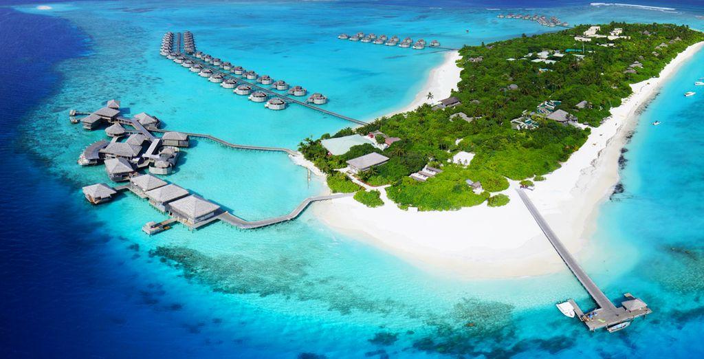 Das Atoll Laamu begrüßt Sie recht herzlich!