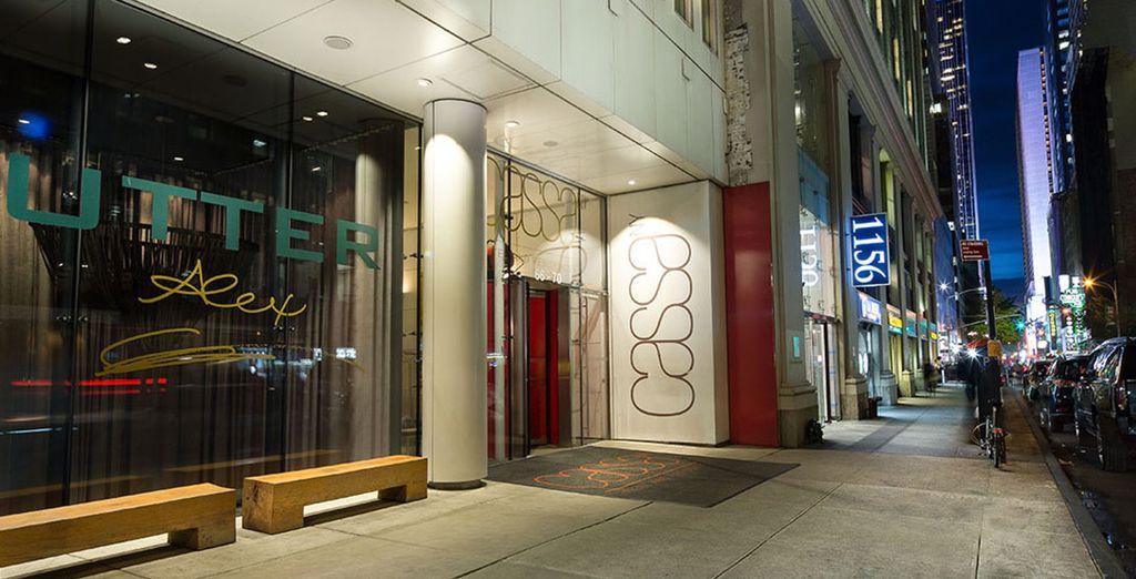 Einem stilollen Boutique Hotel in Midtown Manhattan