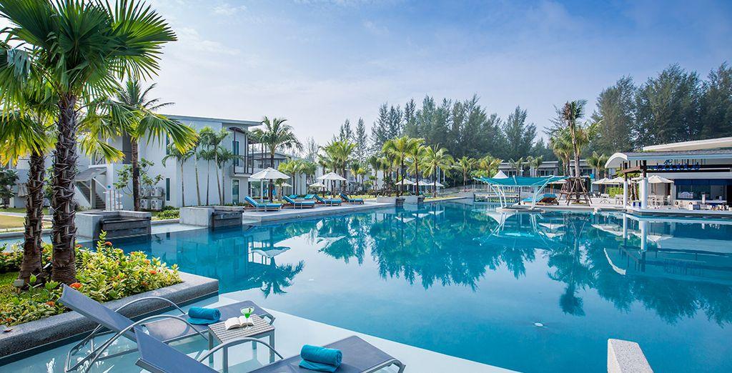 Das luxuriöse 4* The Waters Khao Lak erwartet Sie