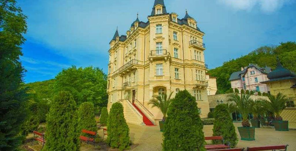 Buchen Sie Ihr Wellnesswochenende in Karlsbad mit Voyage Privé