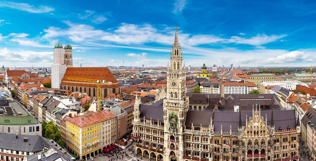 Erkunden Sie die Städte München während eines Städteurlaubs in Deutschland mit Voyage Privé